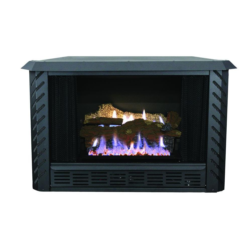 000 BTU Vent Free Firebox LP Gas Stove-AGVF340L - The Home Depot