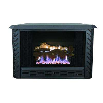 34,000 BTU Vent Free Firebox Natural Gas Stove