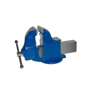 6 in. Heavy-Duty Combination Pipe and Bench Vise - Stationary Base