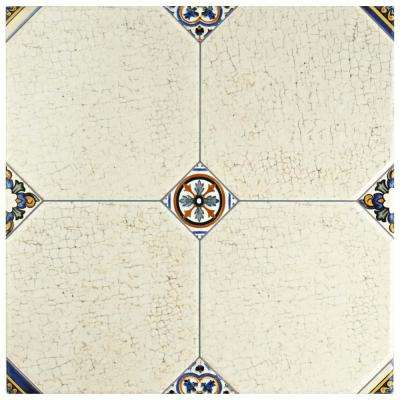 Manises Jet Blanco 13-1/8 in. x 13-1/8 in. Ceramic Floor and Wall Tile (10.76 sq. ft. / case)