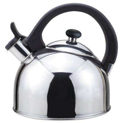 Nubia 2 Qt. Stainless Steel Stovetop Tea Kettle with Whistle