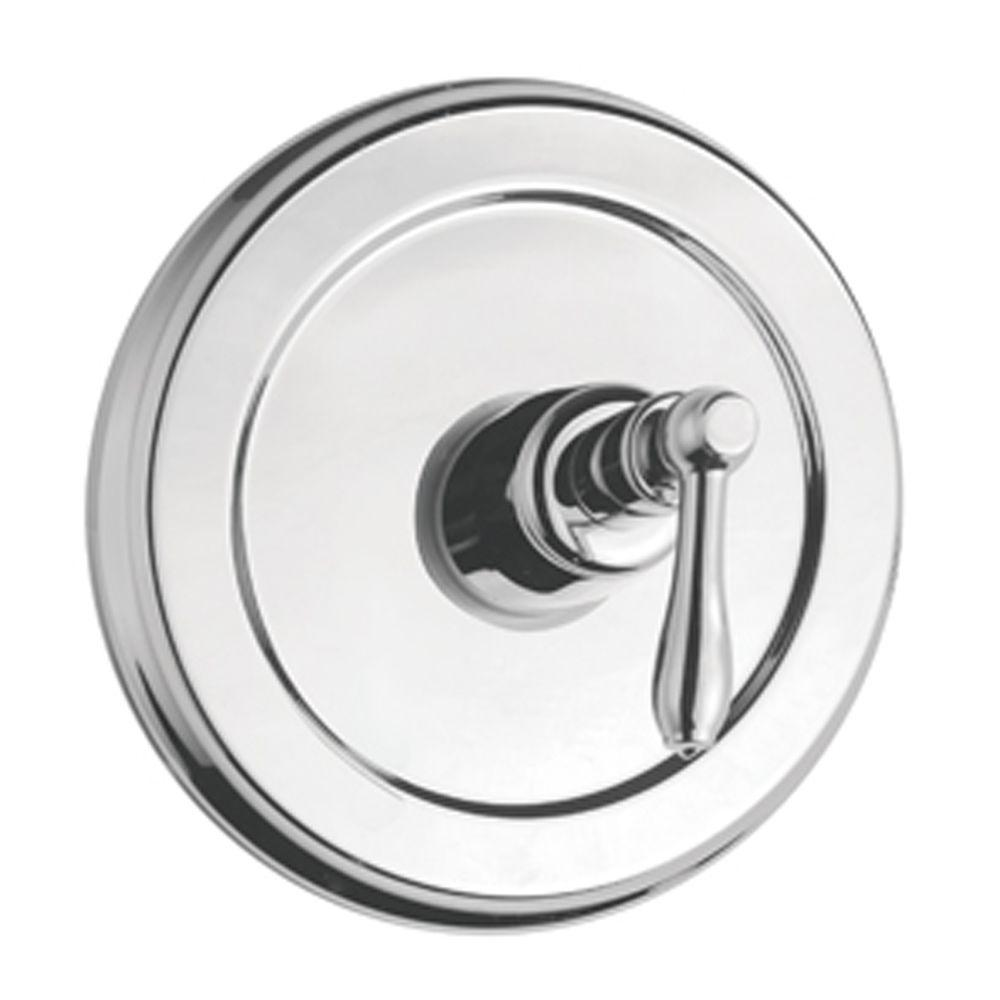 Montbeliard Single-Handle Tub and Shower Valve Control Trim in Chrome