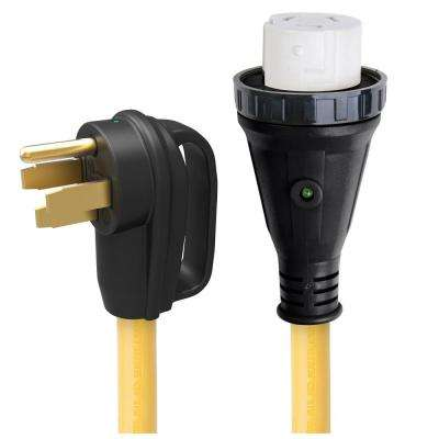 50 Amp Detachable Power Cord with Handle and Indicator Light