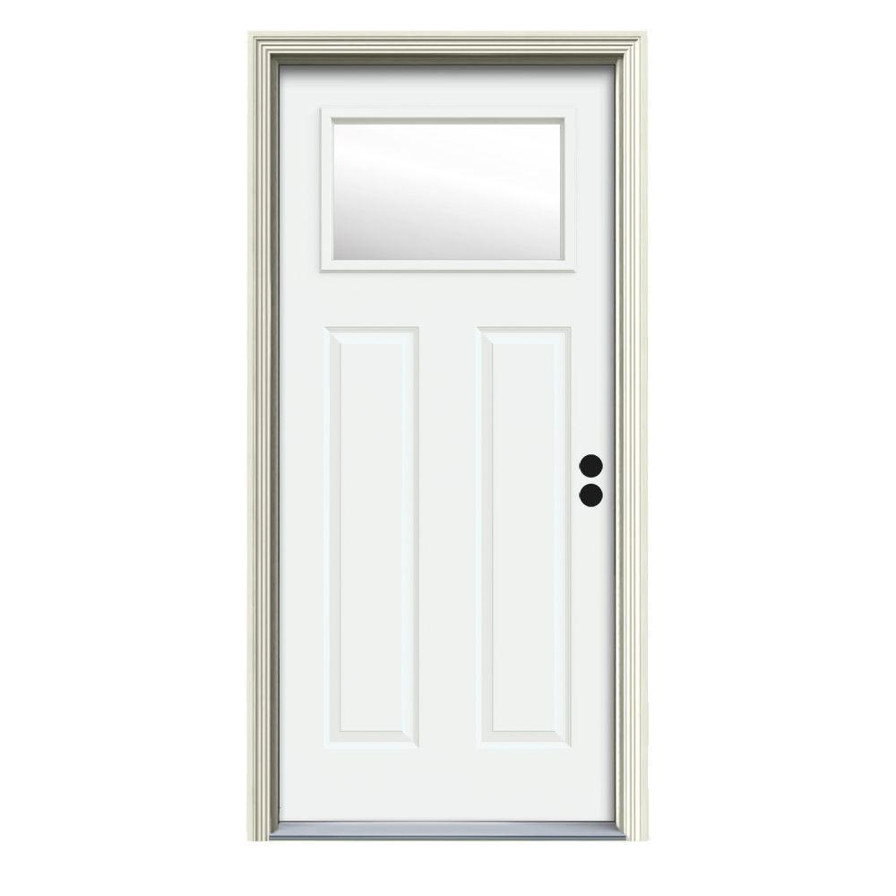 30 x 80 - Exterior Prehung - Steel Doors - Front Doors - The Home ...