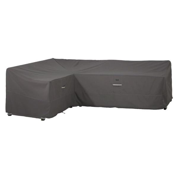 Ravenna 83 in. L x 104 in. L x 32 in. D x 31 in. H Left Facing L-Shape Sectional Lounge Set Cover