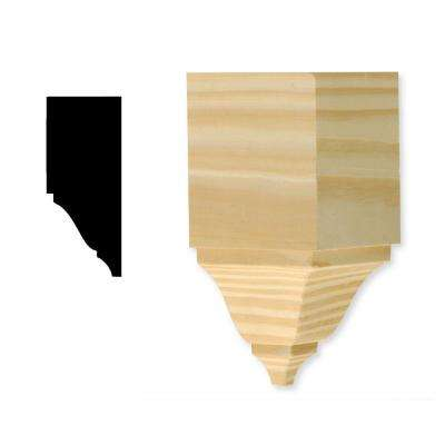 DM ICB275 2-3/4 in. x 5-3/4 in. Pine Crown Block Moulding