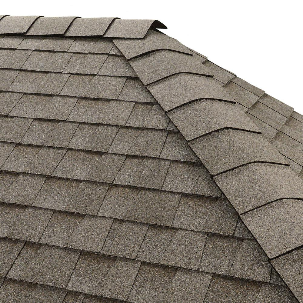 GAF Timbertex Fox Hollow Gray Hip and Ridge Shingles 20 linear ft – Roof Shingles Square Feet Per Bundle
