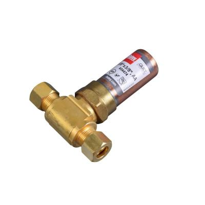 Quiet Pipes 3/8 in. O.D. Brass Compression Tee AA Hammer Arrestor