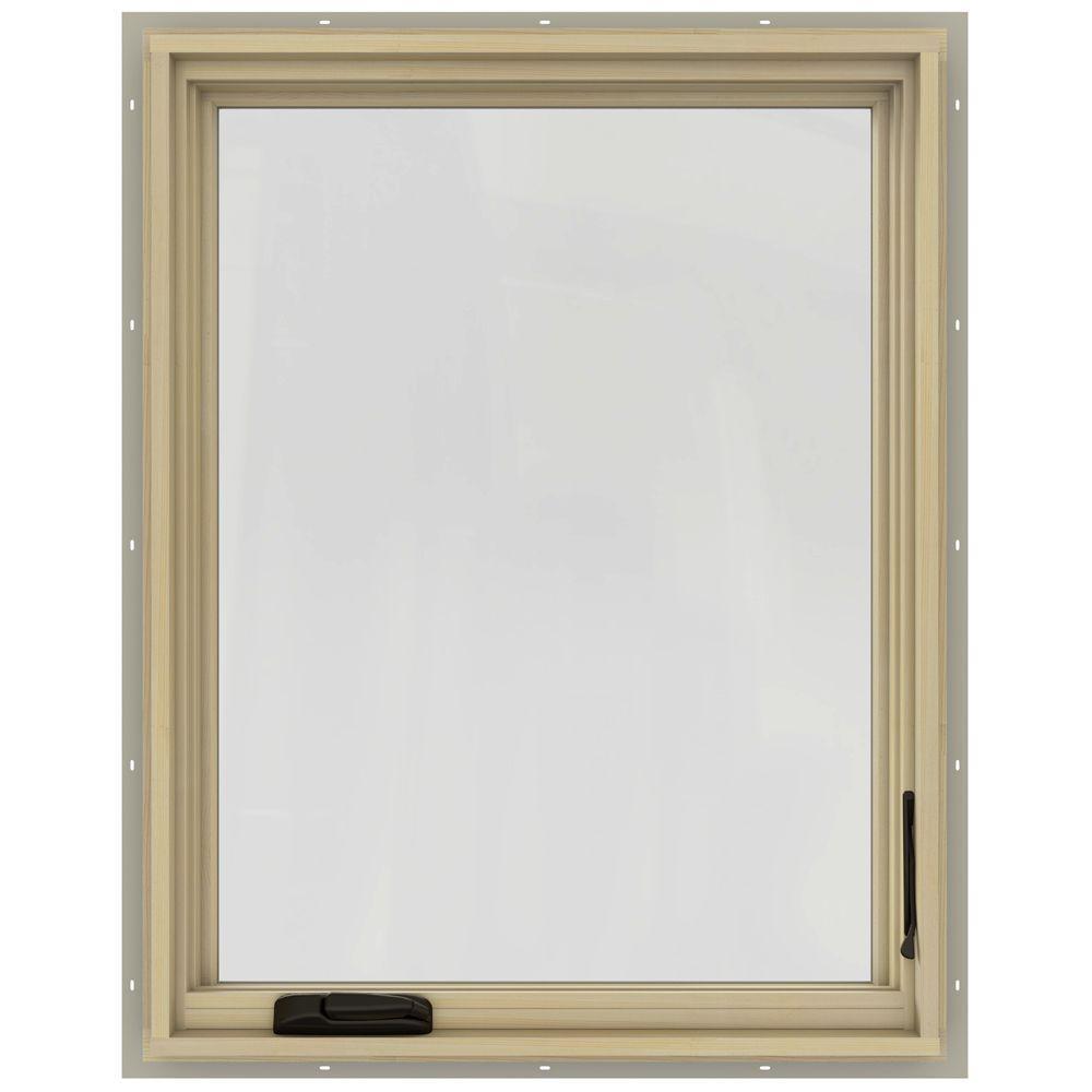 30.75 in. x 48.75 in. W-2500 Right-Hand Casement Wood Window
