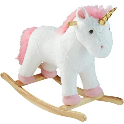 Home Accents Holiday 22.17 in. Rocking Animal, Unicorn