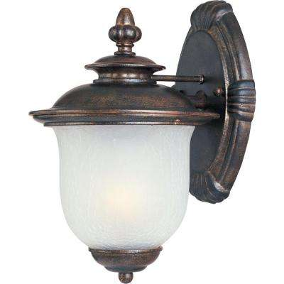 Cambria DC 1-Light Chocolate Outdoor Wall Mount
