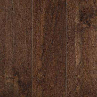Yorkville Whiskey Maple 3/4 in. Thick x 5 in. Wide x Random Length Solid Hardwood Flooring (19 sq. ft. / case)