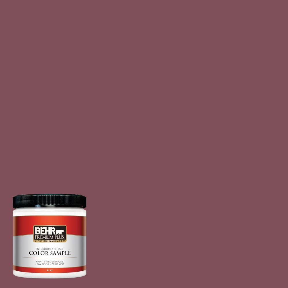 Home Decorators Collection Hdc Cl 02 Fine Burgundy Flat Interior Exterior Paint Primer Sample