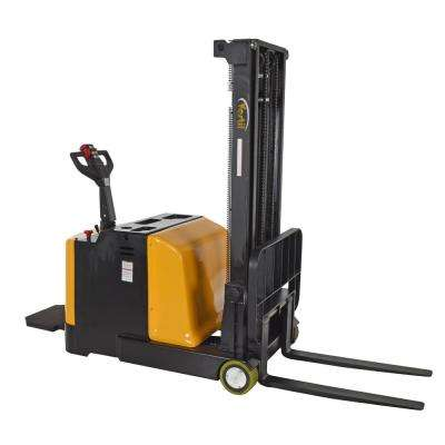 2,000 lb. Capacity 118 in. High Counter-Balanced Powered Drive Lift with Rider Platform