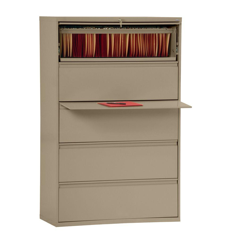800 Series Tropic Sand File Cabinet