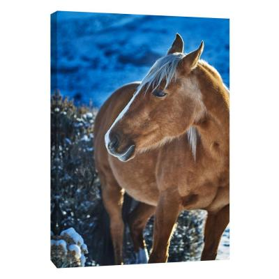 12 in. x 10 in. ''Horse Fort Ranch 8'' Printed Canvas Wall Art
