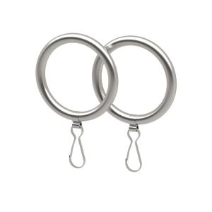 Gatco Curtain Rings in Satin Nickel (2-Pack) by Gatco