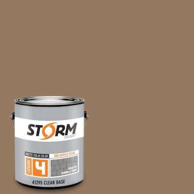 Category 4 1 gal. Cubano Brown Matte Exterior Wood Siding 100% Acrylic Latex Stain