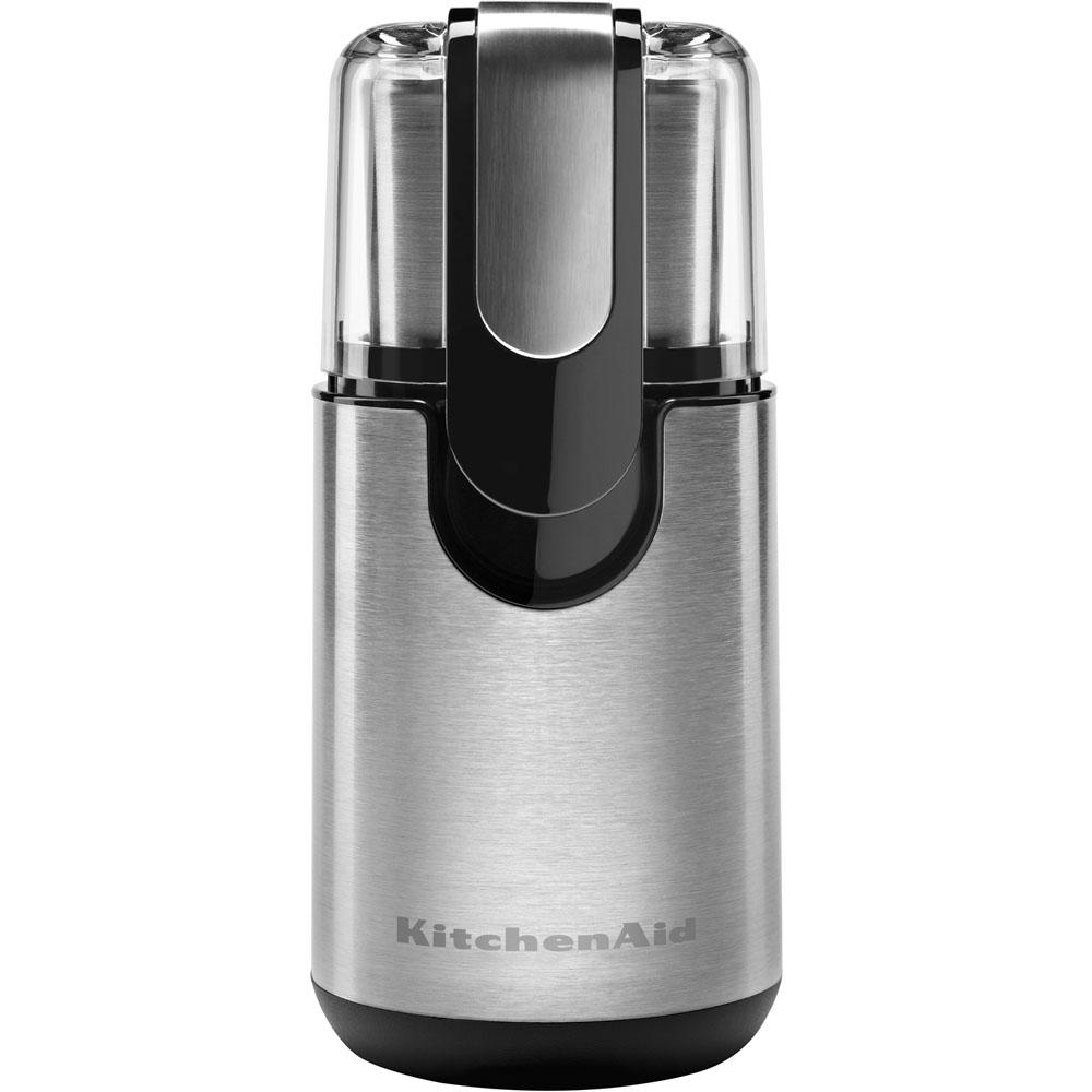 7 oz. Onyx Black Stainless Steel Blade Coffee Grinder