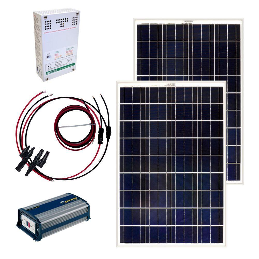 Grape Solar 200-Watt Off-Grid Solar Panel Kit by Grape Solar