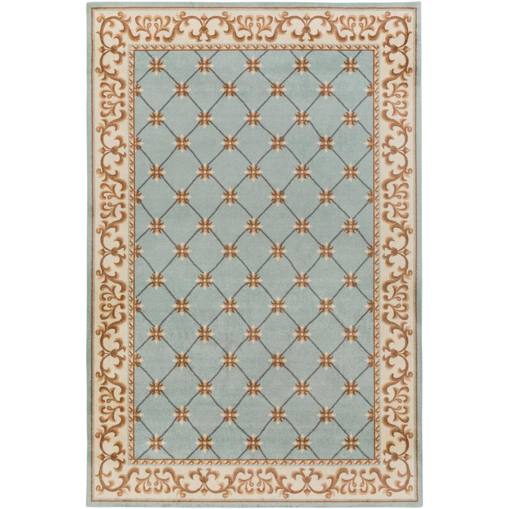 Madeline Alexis Mint 8 ft. x 10 ft. Indoor Area Rug
