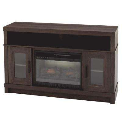 Ashmont 54 in. Freestanding Electric Fireplace TV Stand in Gray Oak