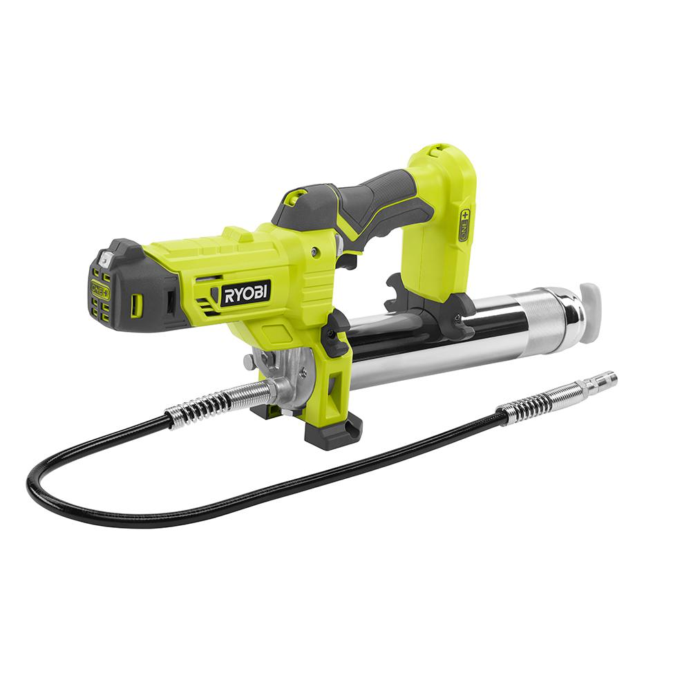 Electric Grease Gun >> Ryobi 18 Volt One Grease Gun Tool Only
