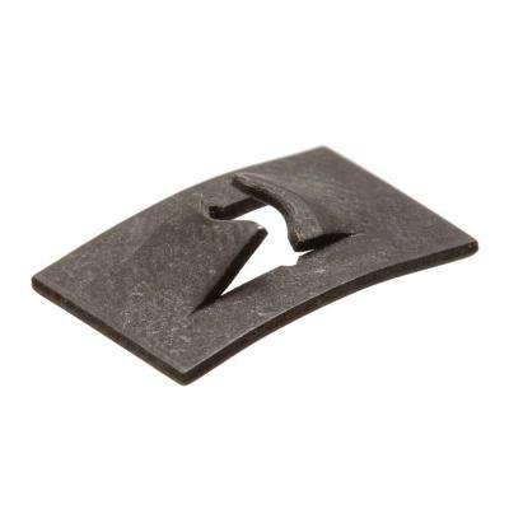#6-32 Plain Steel Flat Type Speed Nut (2-Pack)