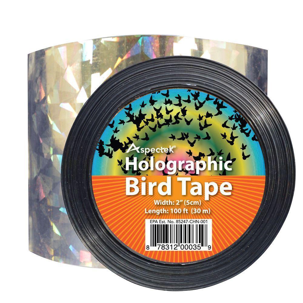 Holographic Bird Scare Ribbon Tape Repellent Bird Repeller