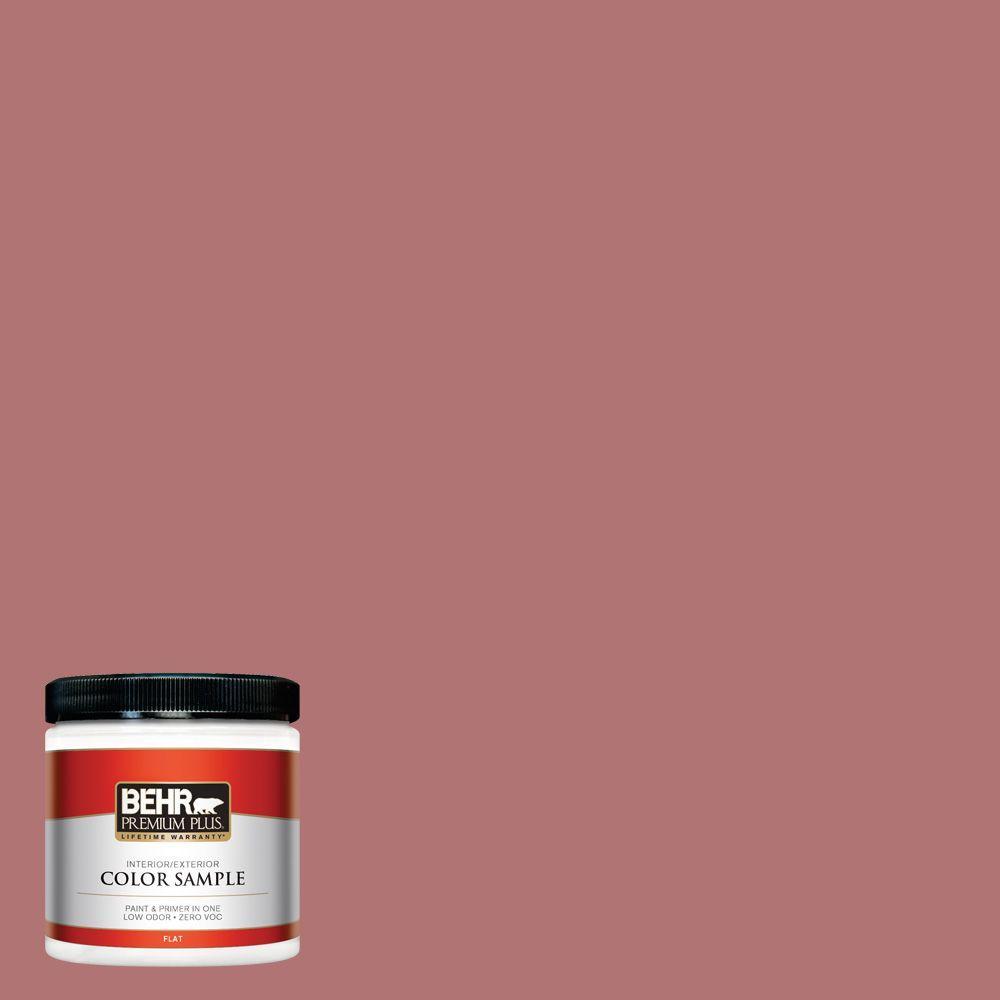 8 oz. #S140-5 Red Gerbera Interior/Exterior Paint Sample