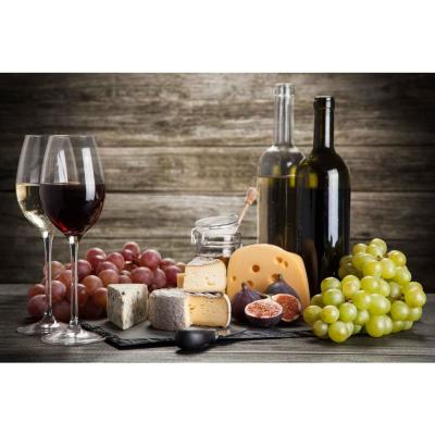 Grapes and Wine Foam Placemats (Set of 4)
