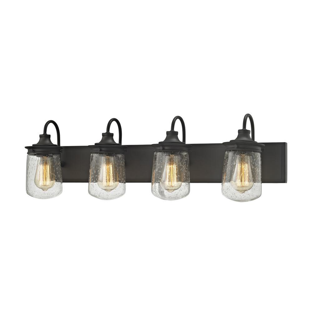 An Lighting Hamel 4 Light Oil Rubbed