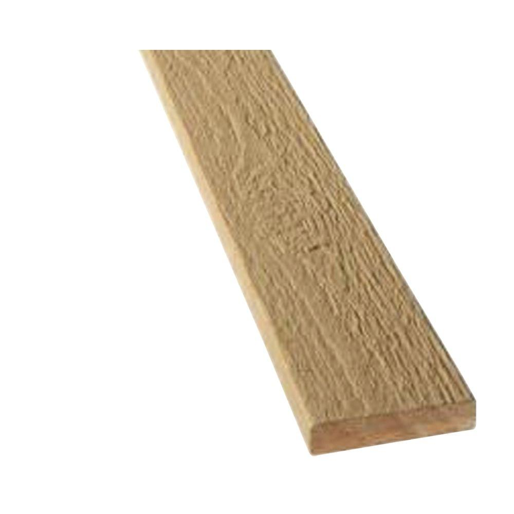3/4 in. x 2 in. x 8 ft. Tan Composite Trim