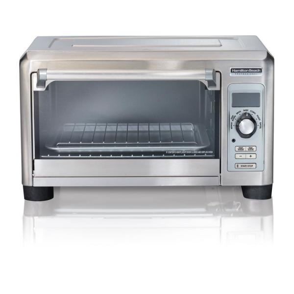 1500-Watt 6-Slice Stainless Steel Digital Toaster Oven with Probe 7-Settings