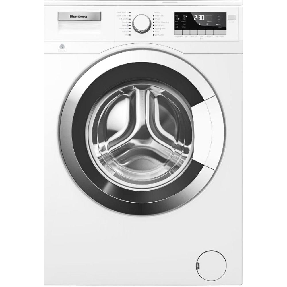 2.5 cu. ft. High-Efficiency Front Load Washer in White with Chrome