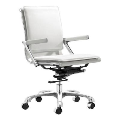 Julia White Leatherette Office Chair