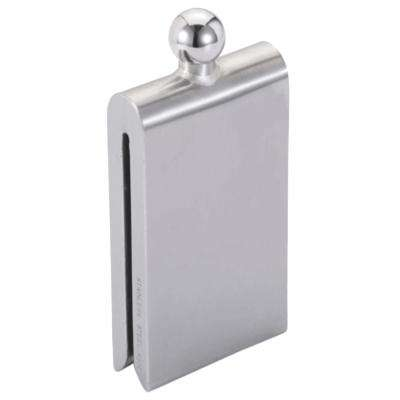 4.5 oz. Magnet Contemporary Satin Stainless Steel Liquor Flask