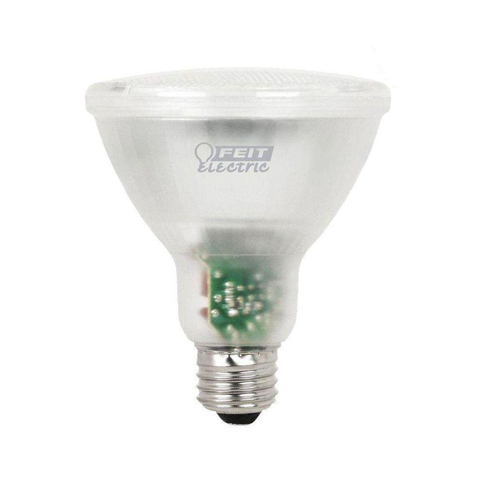 Feit Electric 65W Equivalent Bright White (3500K) PAR30 Long Neck CFL Flood Light Bulb (12-Pack)