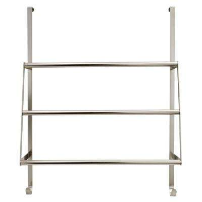 overthedoor triple towel rack