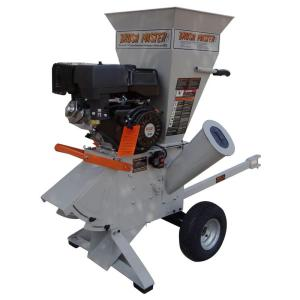 Brush Master 5 inch 15-HP 420cc Commercial Duty 120-Volt Electric Start Chipper Shredder by Brush Master
