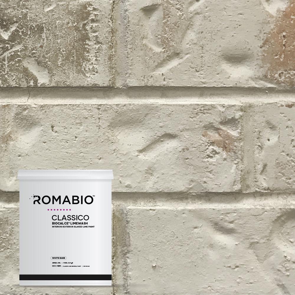 1-qt. Nube Gray Limewash Interior/Exterior Paint
