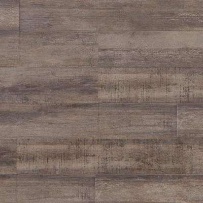 Rustic Heather 11-1/2 mm Thick x 11-1/2 in. Wide x 46.56 in. Length Click Lock Laminate Flooring (14.87 sq. ft. / case)