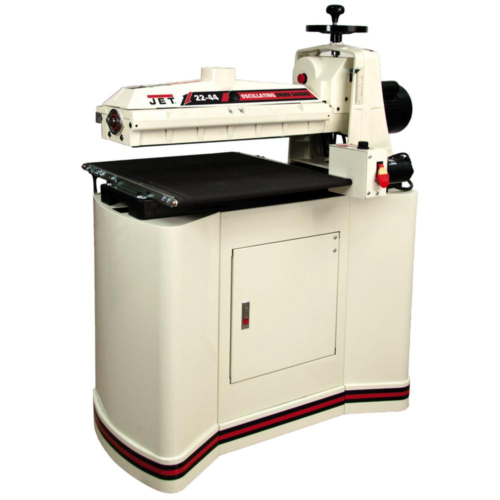 JET 22-44 Oscillating Drum Sander Kit with Closed Stand