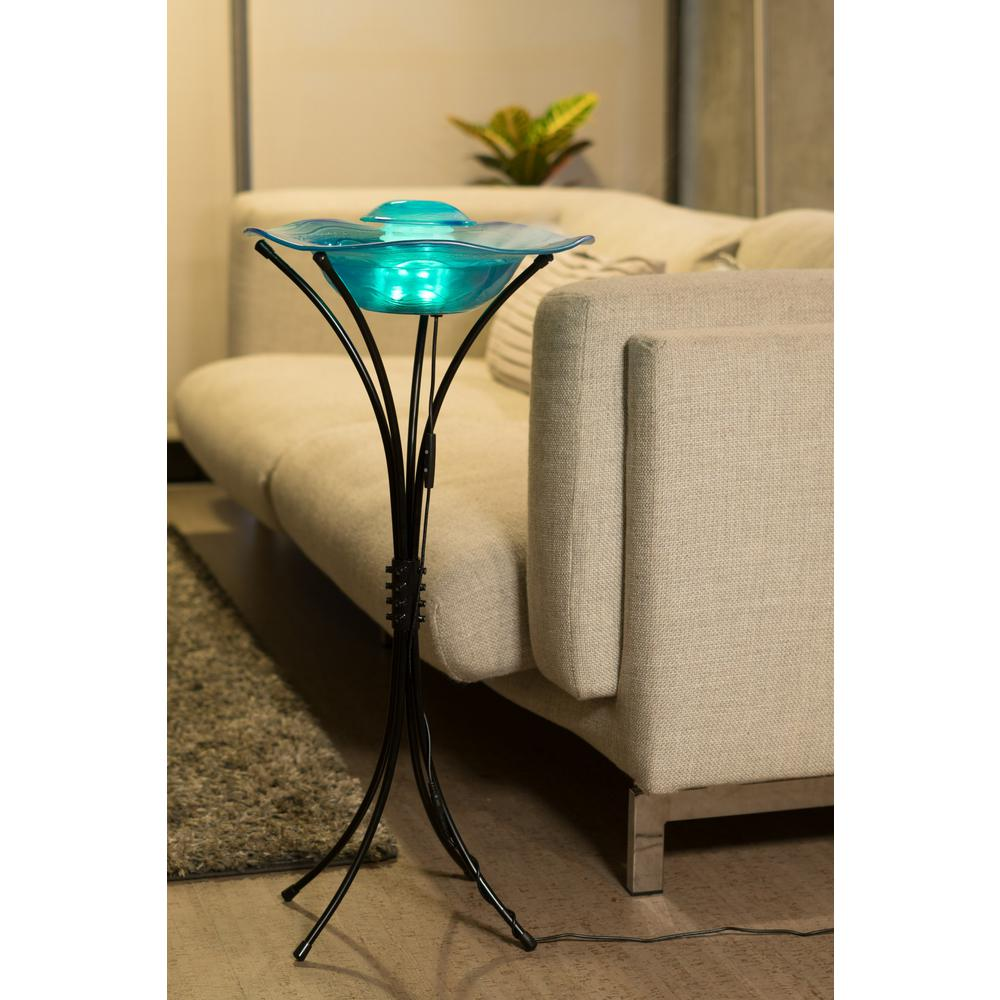 Floor Mist Fountain/Aroma Diffuser With Inline Control