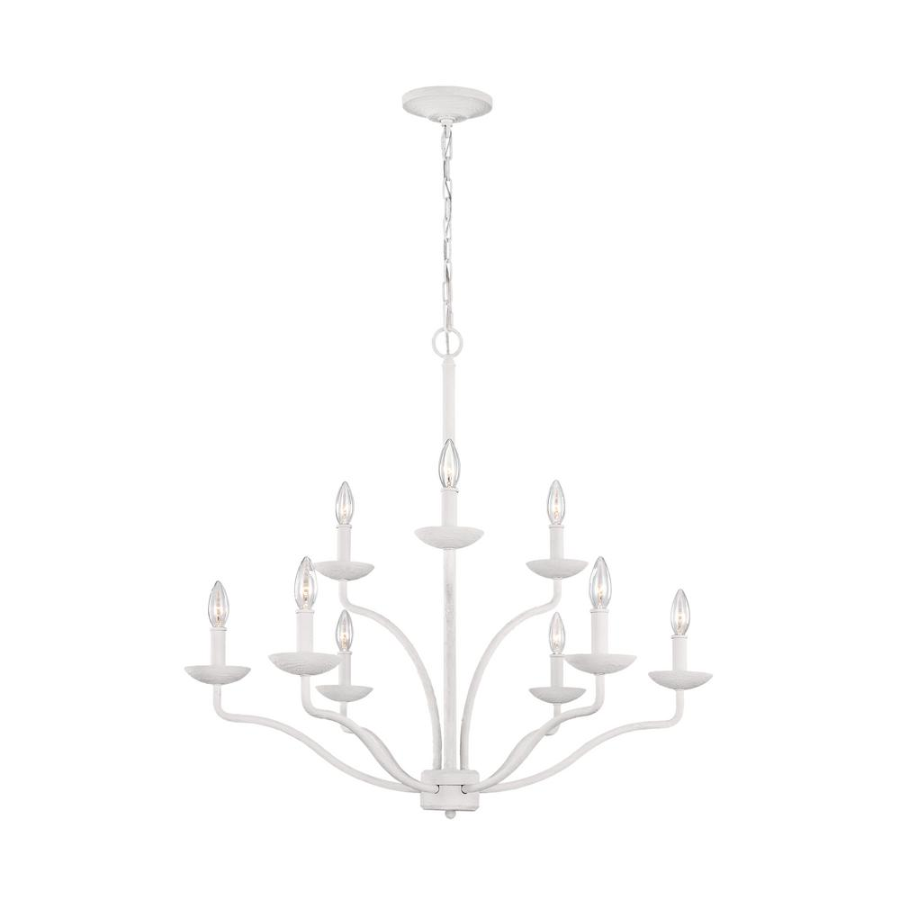 Feiss annie 9 light plaster white chandelier feiss annie 9 light plaster white chandelier aloadofball Images