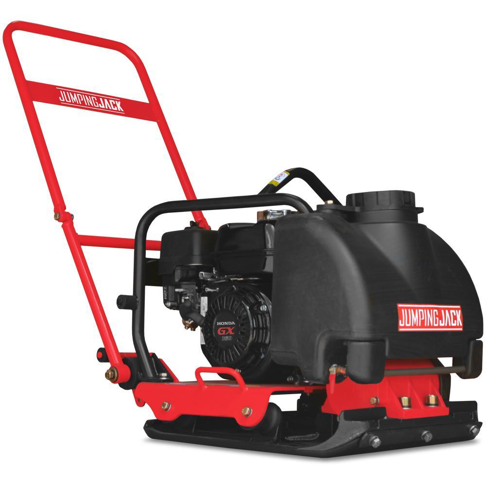 5.5 HP Vibratory Plate Compactor Asphalt/Soil Compaction with Honda Engine