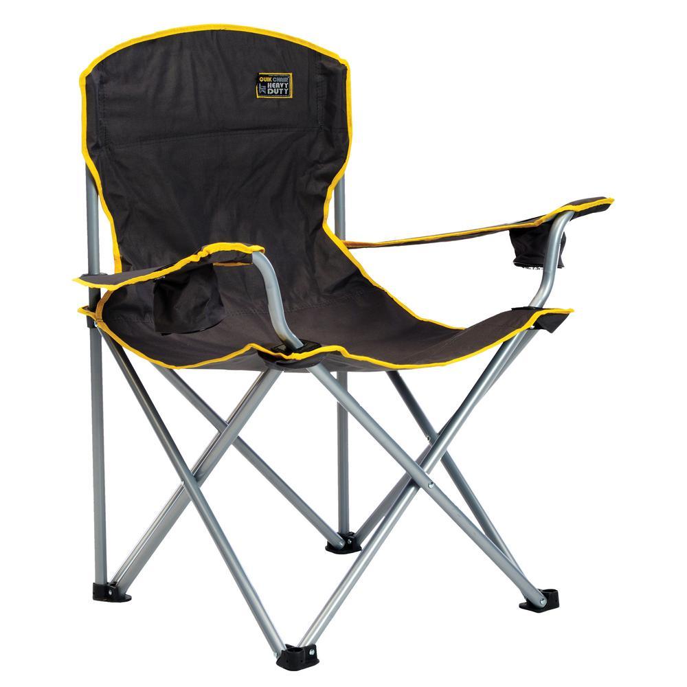 Wondrous Quik Chair Black Heavy Duty Chair Creativecarmelina Interior Chair Design Creativecarmelinacom