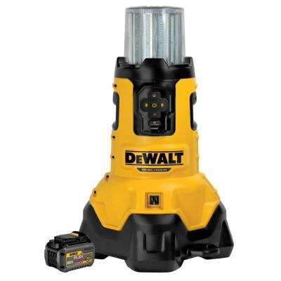 20-Volt Max Lithium-Ion Large Area Light with 1 FLEXVOLT 60-Volt MAX Battery
