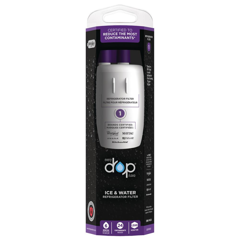 Whirlpool EveryDrop Ice and Refrigerator Water Filter 1