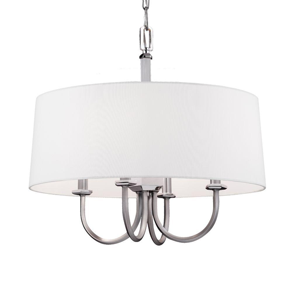 Elegant Lighting Fairmount 2 Light Burnished Brass Pendant
